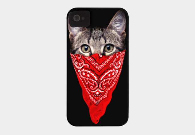 Gangster Cat Phone Case - Design By Humans