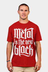 Metal is the new black No.2 (white)