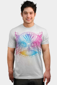 Owl colored line