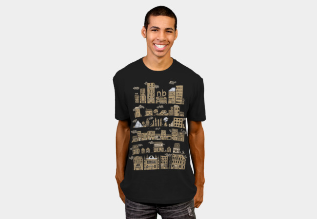 Citylife T-Shirt - Design By Humans