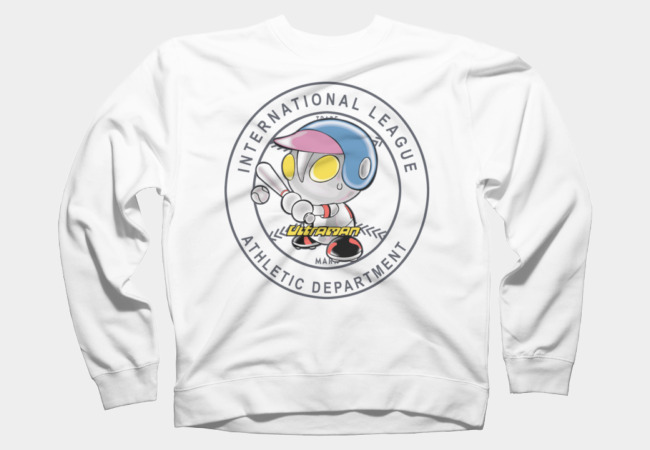 ultraman baseball Sweatshirt