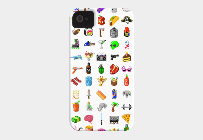 All the Good Stuff Phone Case - Design By Humans