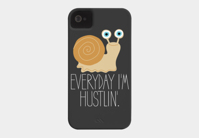 Hustler Phone Case - Design By Humans