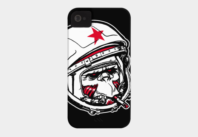 Cosmonaut Phone Case - Design By Humans