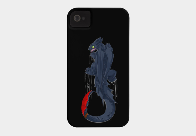 Climbing Toothless Phone Case - Design By Humans