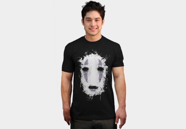 Ink No Face T-Shirt - Design By Humans