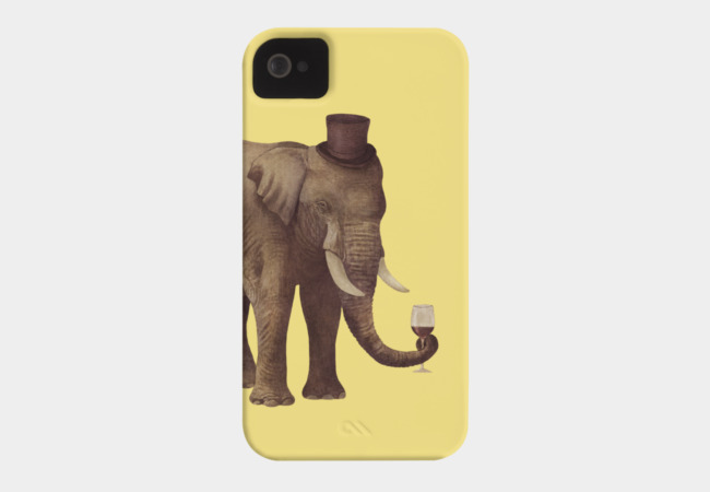 A Fine Vintage Phone Case - Design By Humans