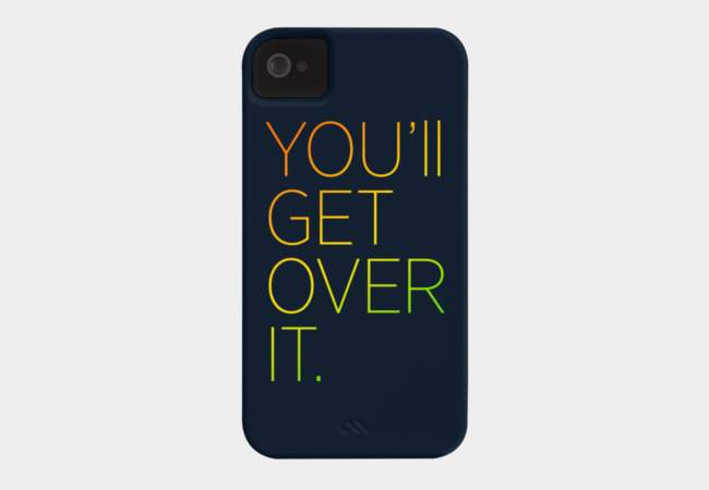 get over Phone Case - Design By Humans