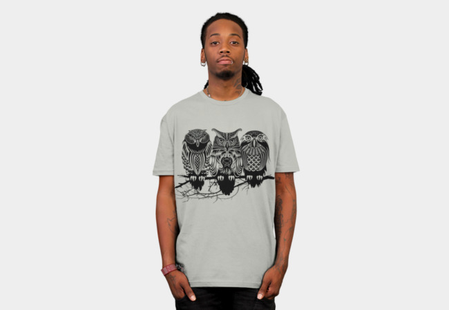 Owls of the Nile T-Shirt - Design By Humans