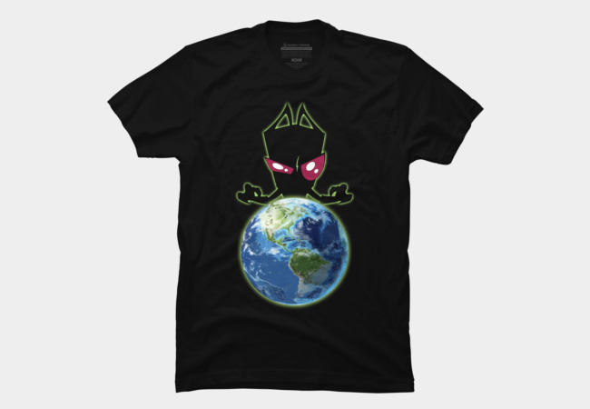 Invader Zim Men's T-Shirt