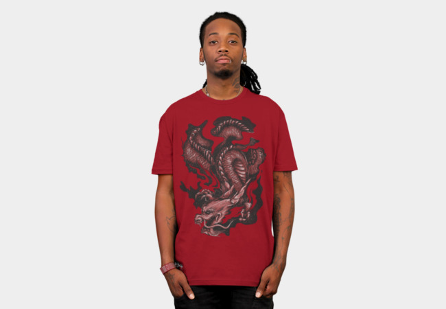 Dragon v.1 T-Shirt - Design By Humans
