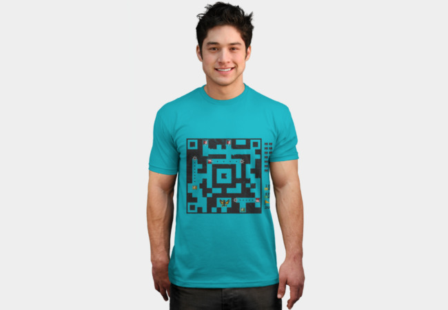 battle QR T-Shirt - Design By Humans