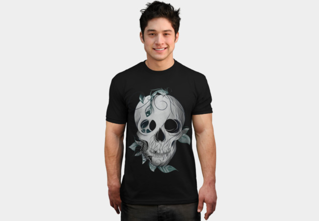 Skull Boho T-Shirt - Design By Humans