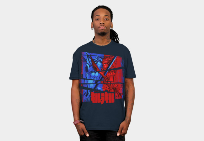 Satsuki vs. Ryuko T-Shirt - Design By Humans