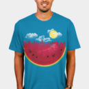 WiredCow wearing Watermelon City by sustici