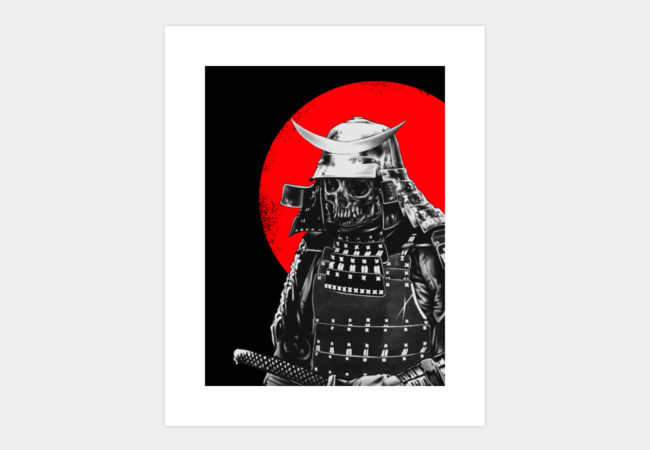 Samurai warrior Art Print - Design By Humans